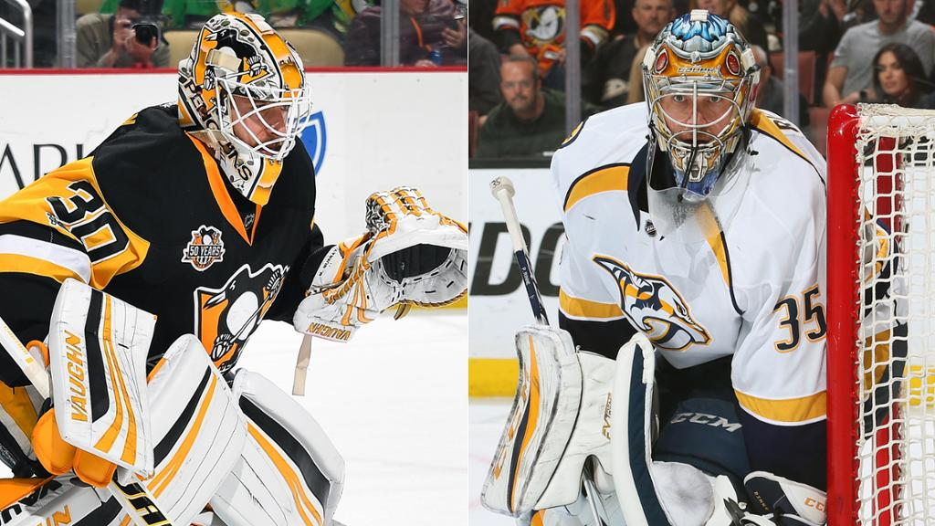 Top 10 NHL goalies for2018-2019