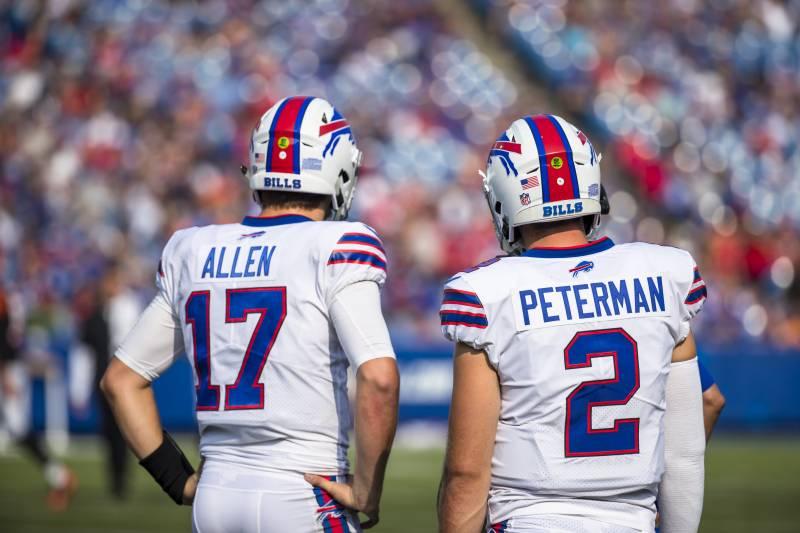 Bills name Josh Allen starter for Week2